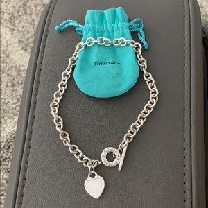 Tiffany & Co Heart Tag Toggle Necklace